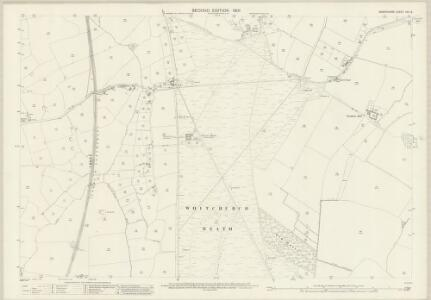 Shropshire VIII.9 (includes: Prees; Whitchurch Rural) - 25 Inch Map