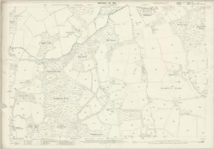 Sussex XII.3 (includes: Alfold; Cranleigh; Loxwood; Rudgwick) - 25 Inch Map