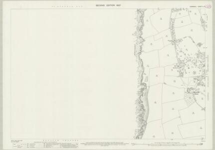 Cornwall LI.11 (includes: Fowey) - 25 Inch Map
