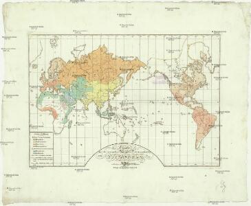 Charte über die verschiedenen jezt auf der Erde herrschenden Religionen