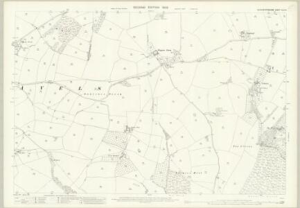Gloucestershire XLVI.4 (includes: Aylburton; St Briavels) - 25 Inch Map