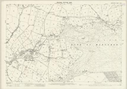 Shropshire LXV.14 (includes: Abdon; Clee St Margaret; Heath; Stoke St Milborough) - 25 Inch Map