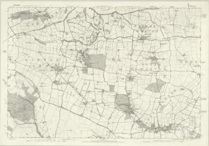 Oxfordshire X - OS Six-Inch Map