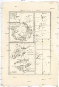 Plan de la Baye d' Awatska, ou la côte orientale du Kamtschatka