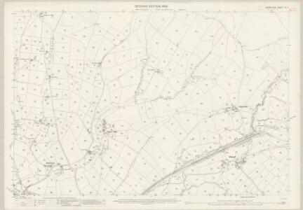 Derbyshire IX.5 (includes: Chapel en le Frith; Chinley Bugsworth and Brownside) - 25 Inch Map