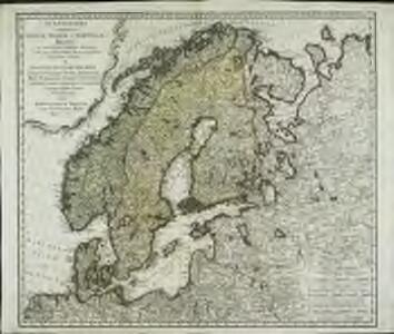 Scandinavia complectens Sveciæ, Daniæ et Norvegiæ regna
