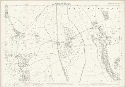 Herefordshire XII.3 (includes: Eye Moreton And Ashton; Luston; Yarpole) - 25 Inch Map