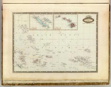 L'Oceanie, divers archipels.