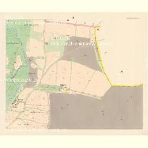 Przestitz (Przestic) - c6218-1-004 - Kaiserpflichtexemplar der Landkarten des stabilen Katasters