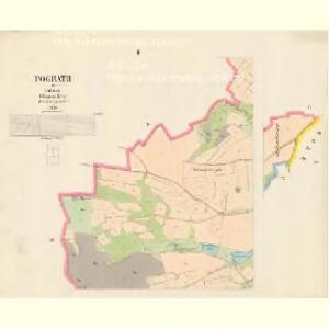 Pograth - c5891-1-001 - Kaiserpflichtexemplar der Landkarten des stabilen Katasters