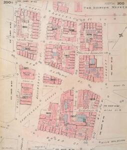 Insurance Plan of London Vol. VIII: sheet 200