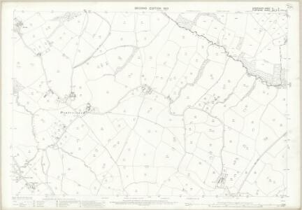 Shropshire VI.9 (includes: Ellesmere Rural; Overton) - 25 Inch Map