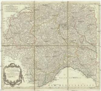 Partie occidentale de la Lombardie et pays circonvoisins, ou sont les etats de Savoye, Piémont, Milan, Genes, Plaisance &c