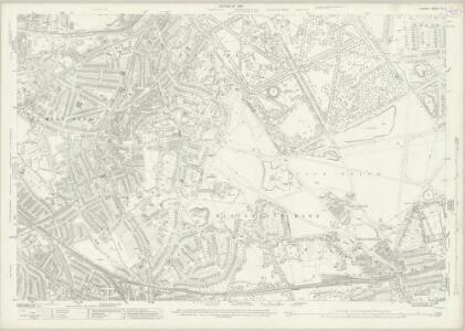 London (1915- Numbered sheets) X.5 (includes: Borough Of Greenwich; Lewisham) - 25 Inch Map