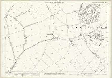 Lincolnshire LXXI.4 (includes: Apley; Barlings; Fiskerton; Newball; Stainfield) - 25 Inch Map