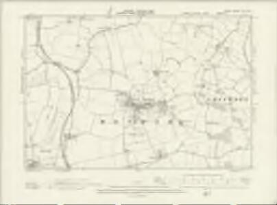 Essex XIV.SW - OS Six-Inch Map