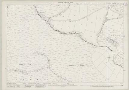 Somerset LVI.11 (includes: Molland; Twitchen; Withypool) - 25 Inch Map