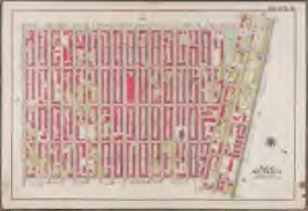 Plate 19: [Bounded by Stuyvesant Avenue, Fulton Street, Utica Avenue, Atlantic Avenue, Brooklyn Avenue, Fulton Street, Tompkins Avenue and Lafayette Avenue.]; Atlas of the borough of Brooklyn, city of New York: from actual surveys and official plans by George W. and Walter S. Bromley.