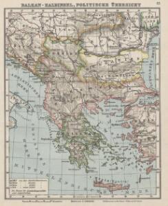 Balkan-Halbinsel, politische Übersicht