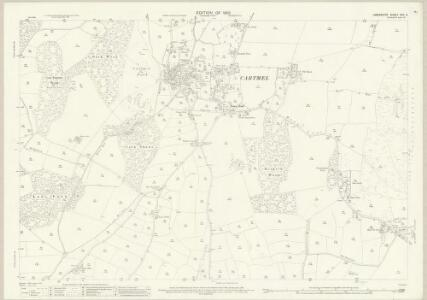 Lancashire XVII.3 (includes: Broughton East; Grange; Lower Allithwaite; Lower Holker) - 25 Inch Map