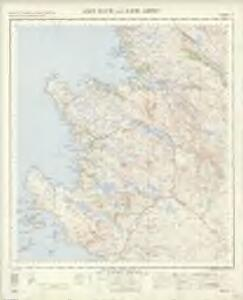 Loch Inver and Loch Assynt - OS One-Inch Map
