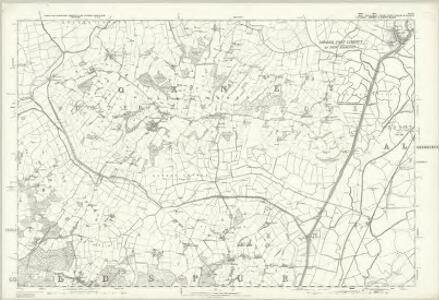 Sussex XXXII - OS Six-Inch Map