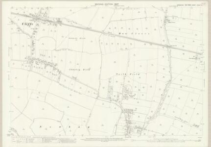 Yorkshire CCXXII.9 (includes: Barlow; Cliffe; Hemingbrough) - 25 Inch Map