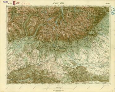 III. vojenské mapování 4364