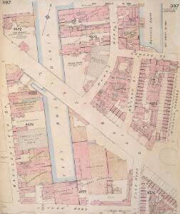 Insurance Plan of London Vol. xi: sheet 397