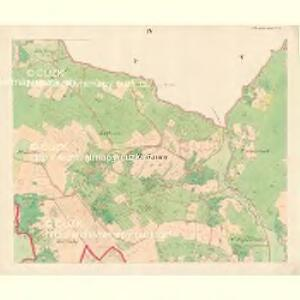 Alt Hrosenkau (Stary Hrasenkow) - m2868-1-003 - Kaiserpflichtexemplar der Landkarten des stabilen Katasters