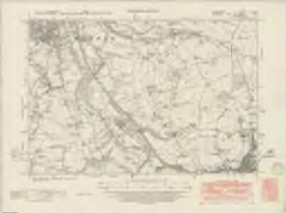 Derbyshire V.SW - OS Six-Inch Map