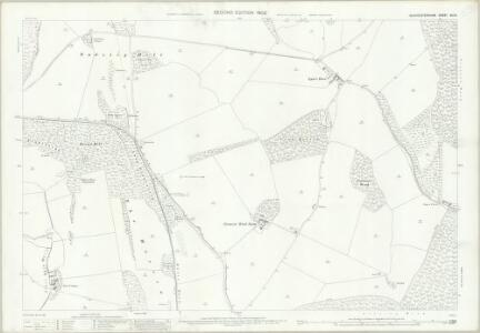 Gloucestershire XX.12 (includes: Sudeley; Temple Guiting; Winchcombe) - 25 Inch Map