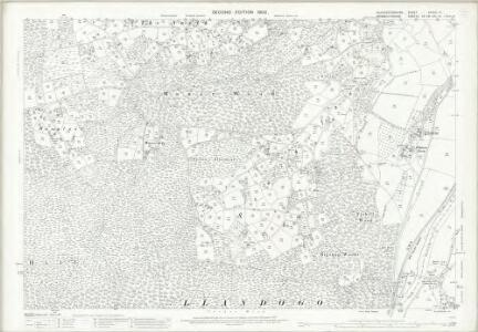 Gloucestershire XXXVIII.14 (includes: St Briavels; Trelech United) - 25 Inch Map