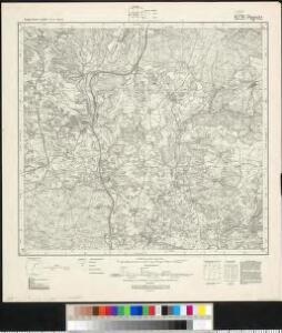 Meßtischblatt 6235 : Pegnitz, 1944