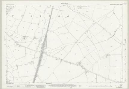 Buckinghamshire XXVII.3 (includes: Quainton; Westcott; Woodham; Wotton Underwood) - 25 Inch Map