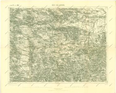 III. vojenské mapování 4556