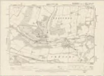 Hertfordshire XXXVIII.SW - OS Six-Inch Map