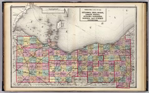 Cuyahoga, Erie, Huron, Lorain, Medina, Ottawa, Sandusky, Seneca, and Summit counties.