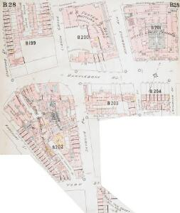 Insurance Plan of London West North-West District Vol. B: sheet 28-1