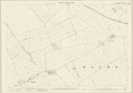 Cumberland XXVIII.1 (includes: Holme Abbey) - 25 Inch Map