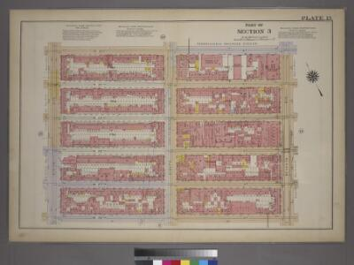Plate 15, Part of Section 3: [Bounded by W. 31st Street, Seventh Avenue, W. 26th Street and Ninth Avenue.]