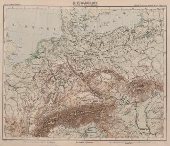 Mitteleuropa Übersicht der Bodenverhältnisse