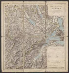Karte des Kantons Luzern