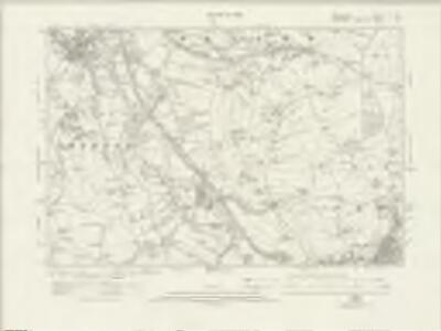 Derbyshire V.SW - OS Six-Inch Map