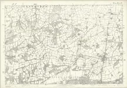 Sussex III - OS Six-Inch Map