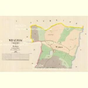 Wratzow (Wracow) - c8782-1-001 - Kaiserpflichtexemplar der Landkarten des stabilen Katasters