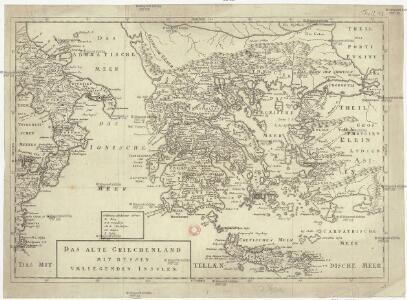 Das alte Griechenland mit dessen vmliegenden Insvlen