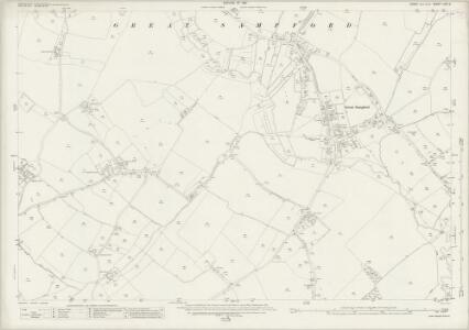 Essex (New Series 1913-) n XIV.8 (includes: Great Sampford; Little Sampford) - 25 Inch Map