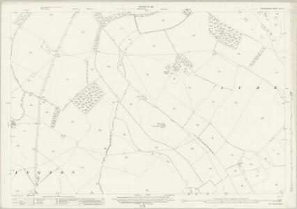 Oxfordshire XLI.11 (includes: Aston Rowant; Sydenham; Tetsworth; Thame) - 25 Inch Map