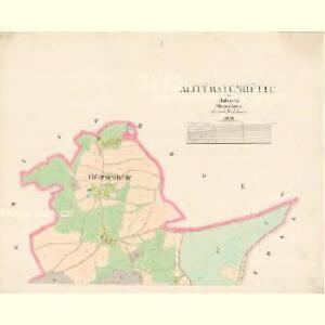 Altfürstenhütte - c7239-1-001 - Kaiserpflichtexemplar der Landkarten des stabilen Katasters